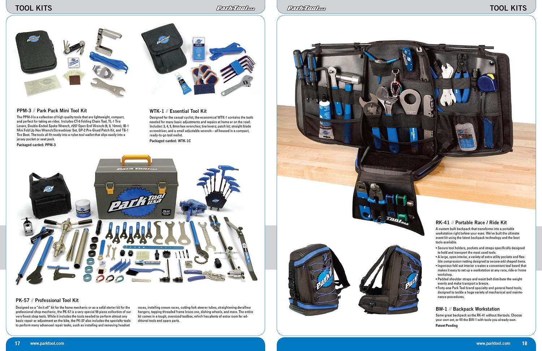 Park Tool Catalog Spread