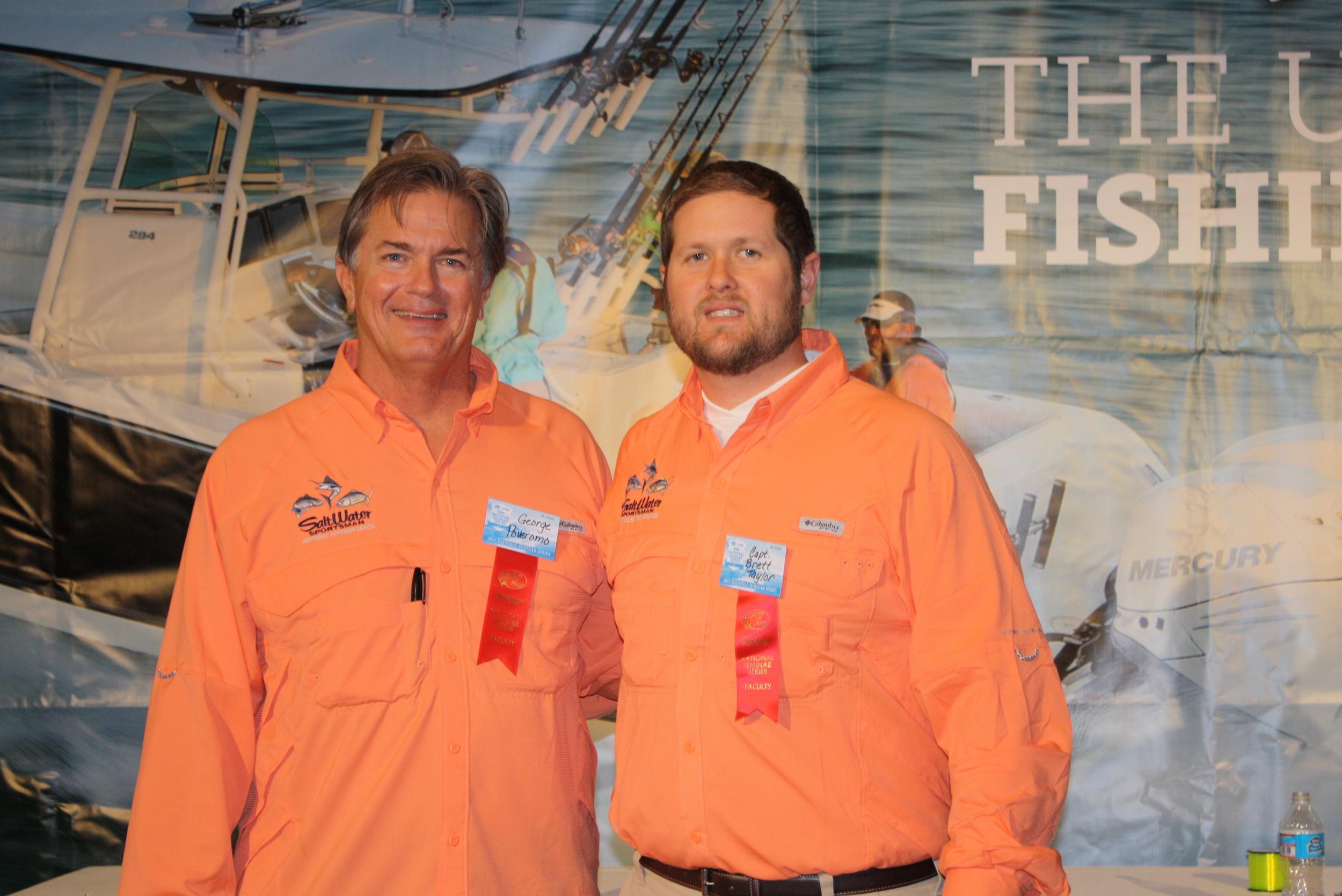 Host George Poveromo & Capt. Brett Taylor