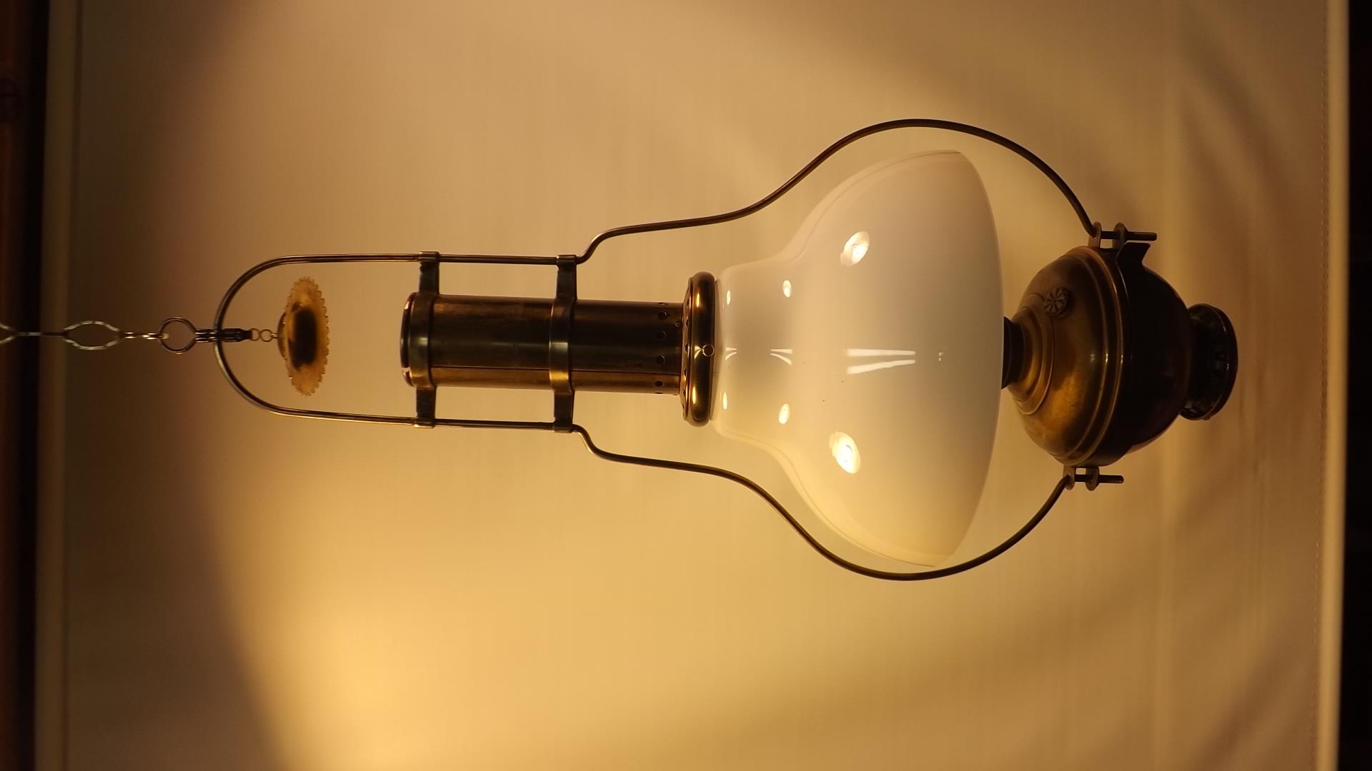 #5 Brass Hanging Lamp