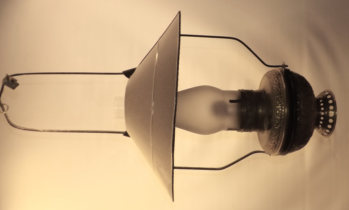 Brass mammoth store Lamp + tin shade Other configurations available