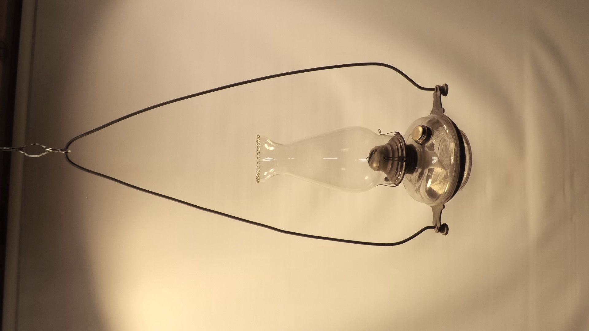 Early hanging lamp - clear font