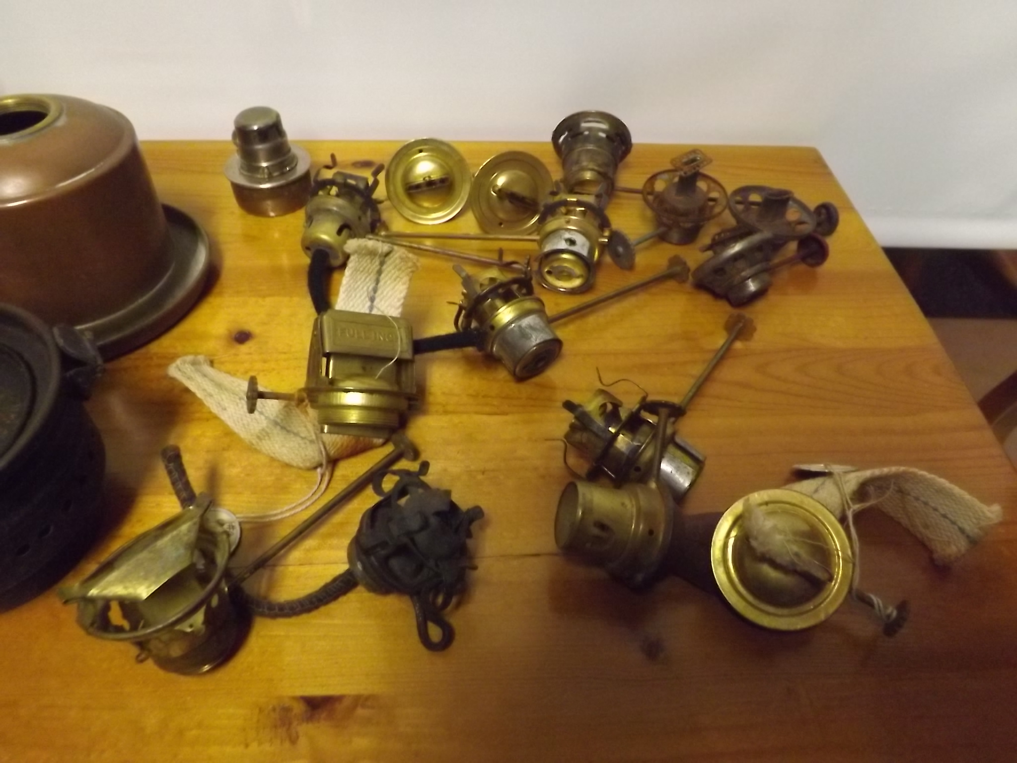 Used lantern burners