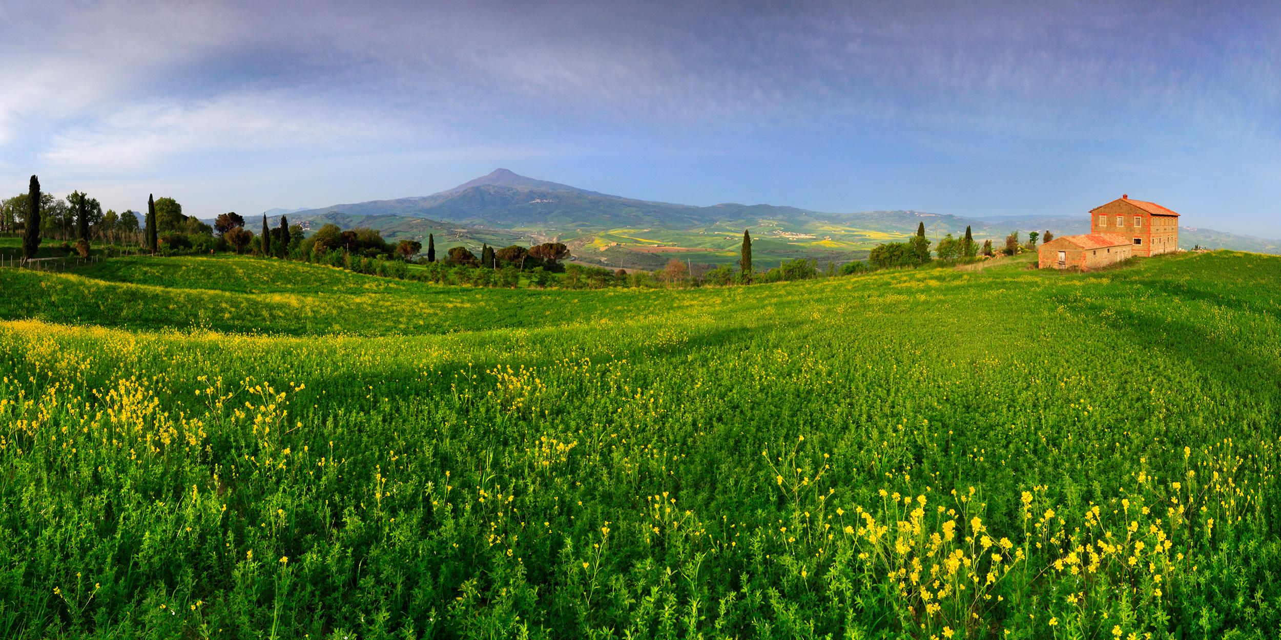 Tuscan wonderland - La Foce, Pienza, Tuscany, Italy