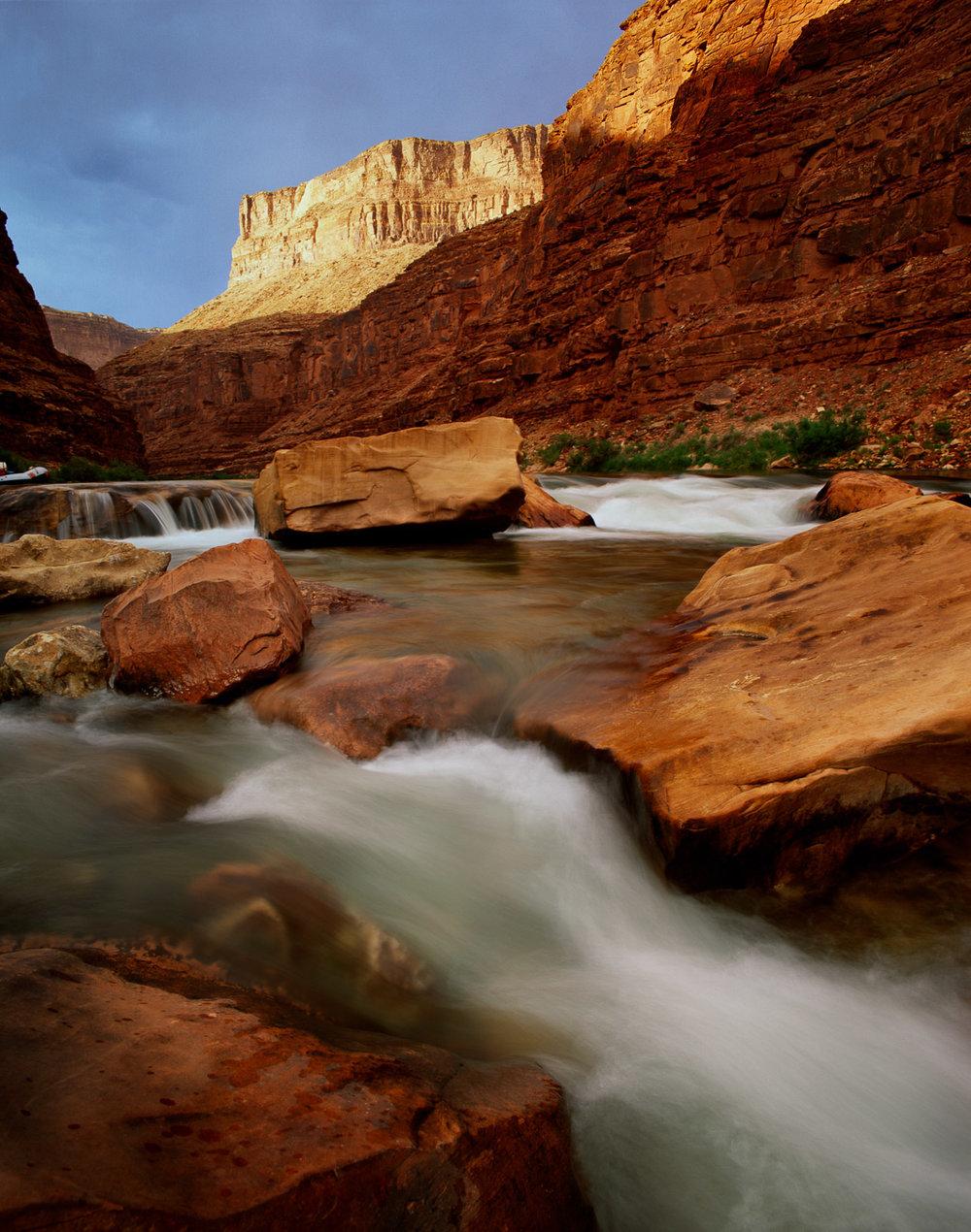 """North Canyon Rapid, Colorado River Grand Canyon NP  ARIZONA"""