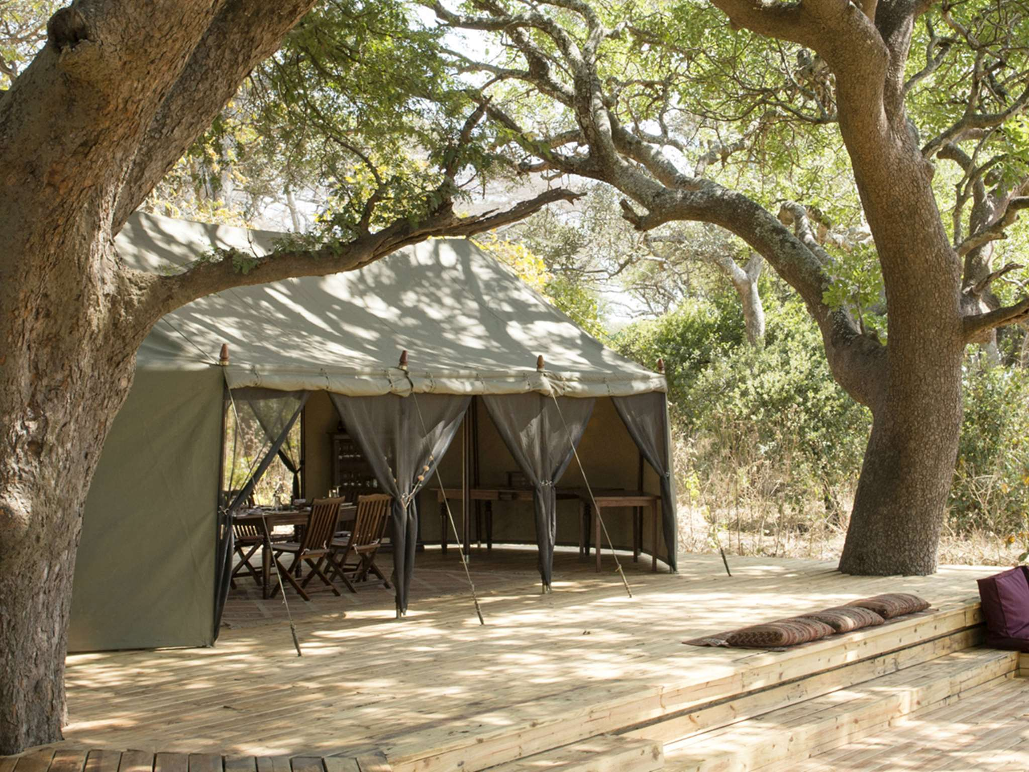 Chada Camp dining tent
