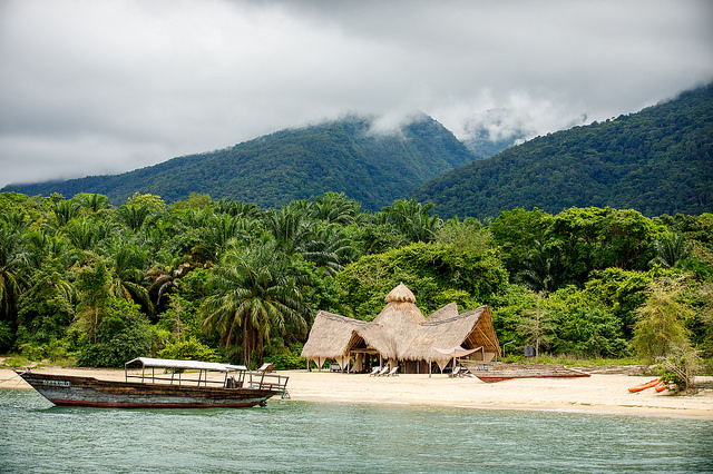 Dhow on Lake Tanganyika