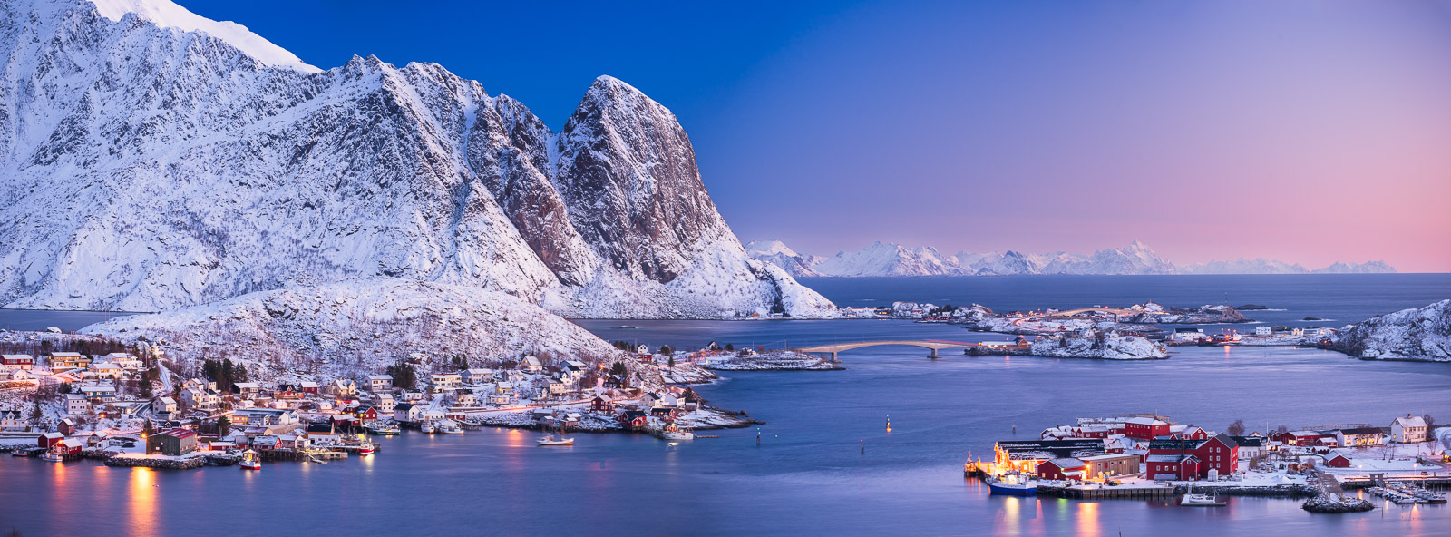 Dawn over Hamnoy Norway