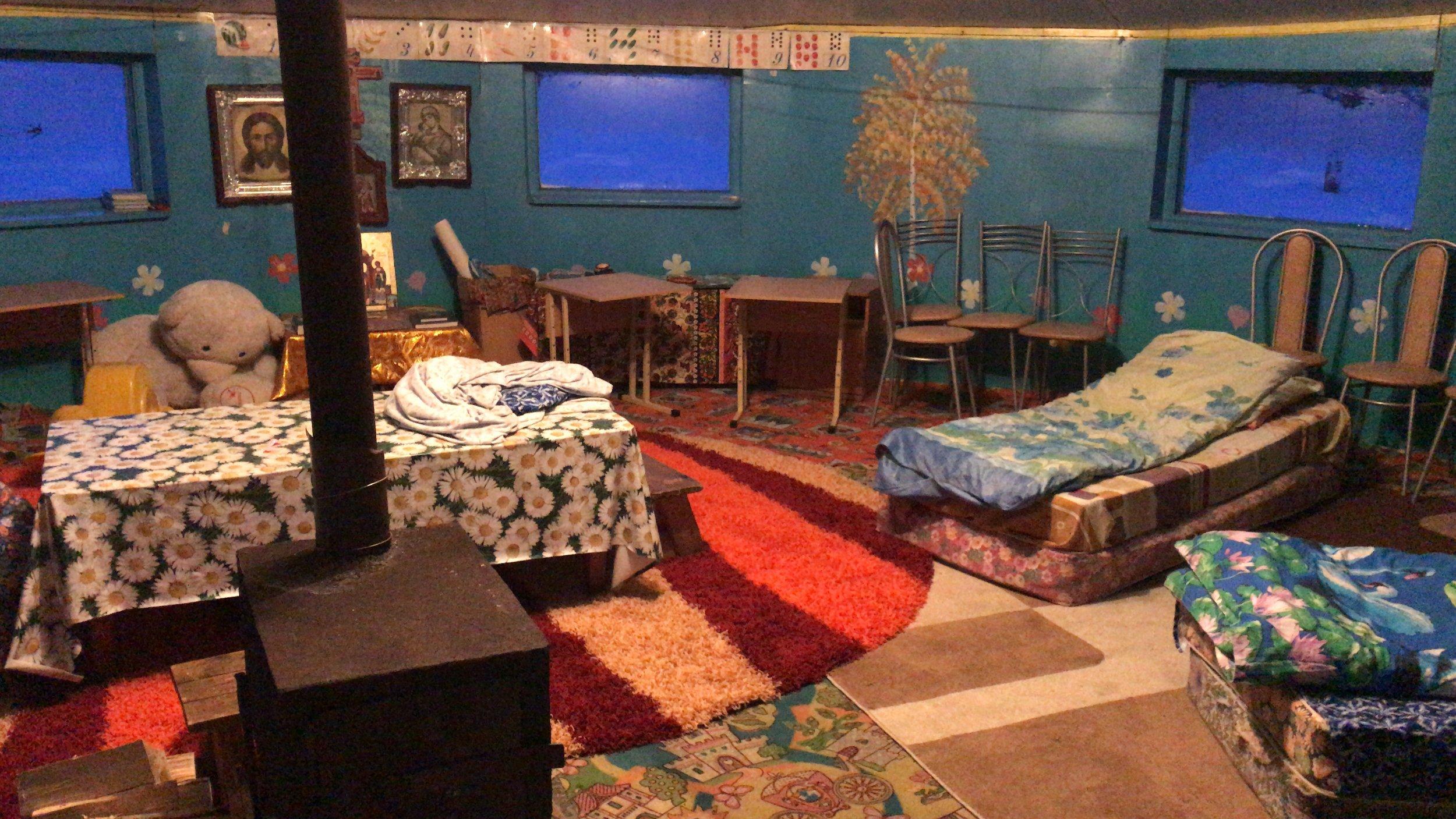 Sleeping accommodations, last night at Nenets.