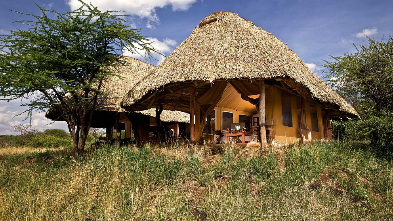 Your room at Lewa Safari Camp