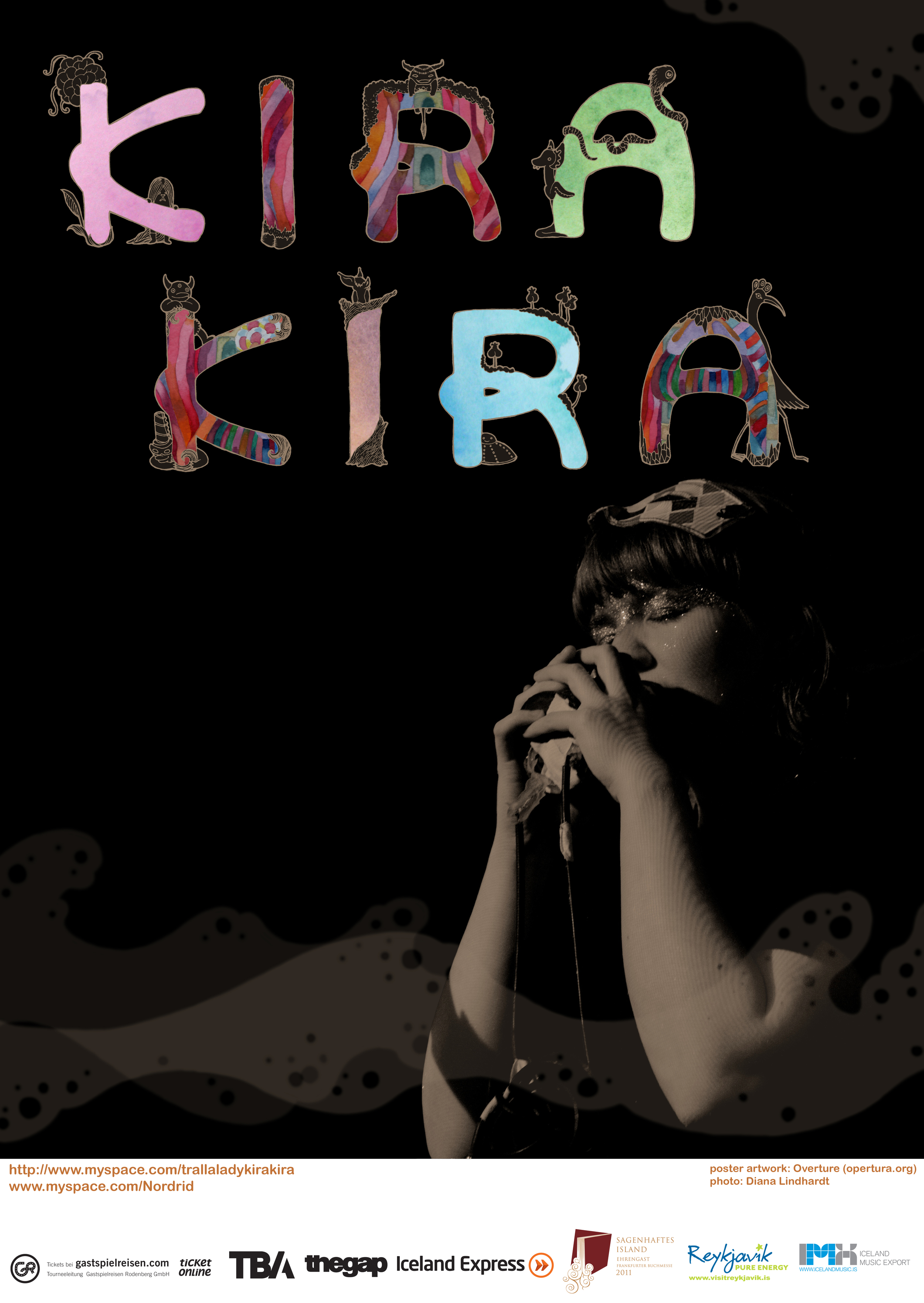 Kira Kira poster design