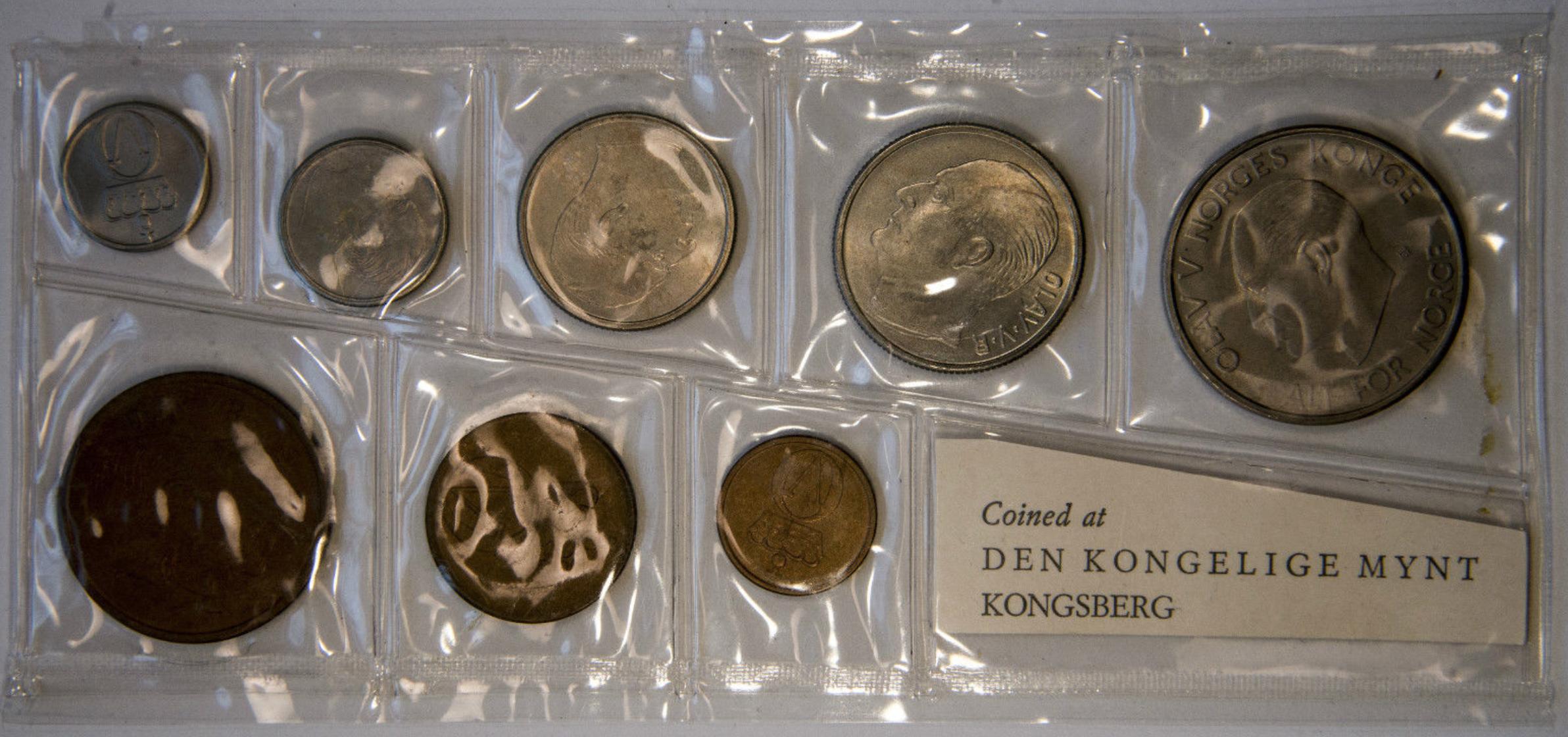Norway - 1965 Mint Set Obverse