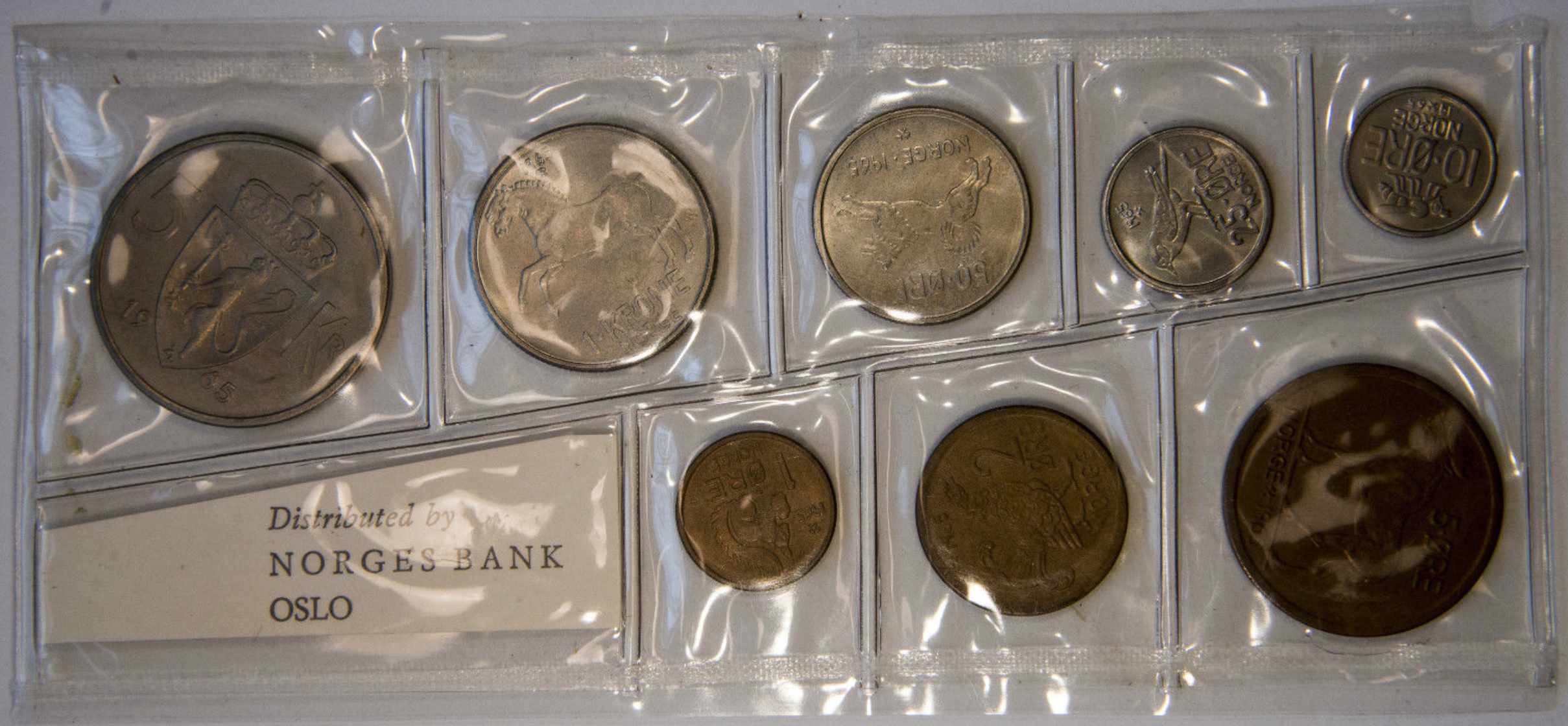 Norway - 1965 Mint Set