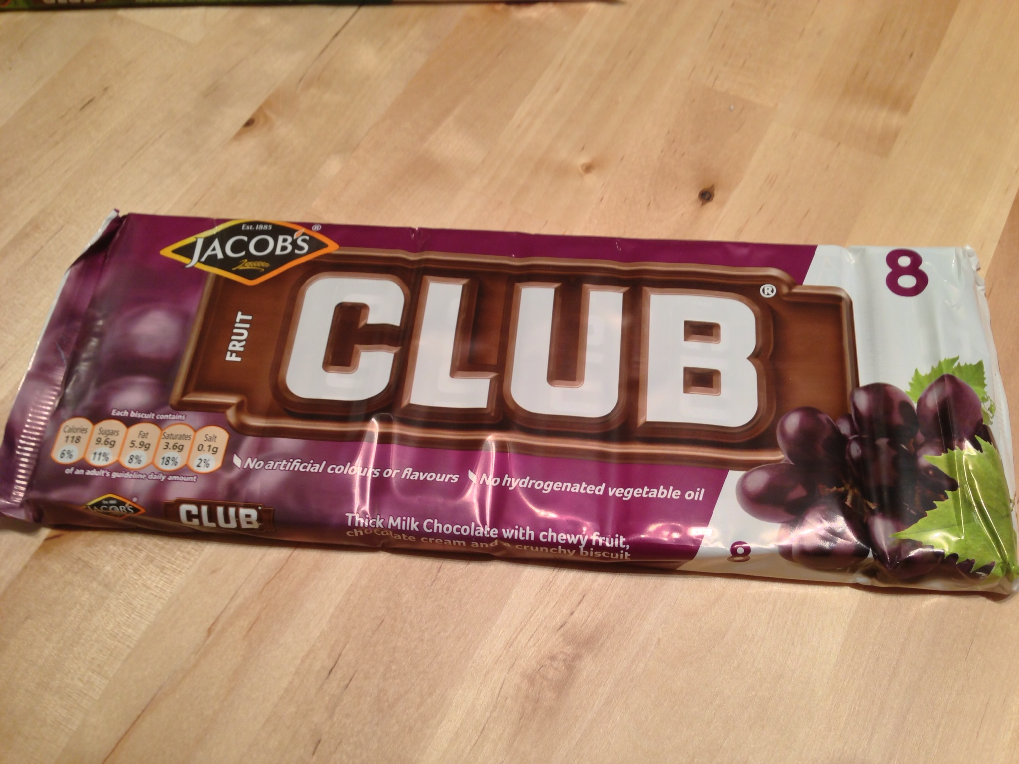Fruit Club Biscuits- My Favorite