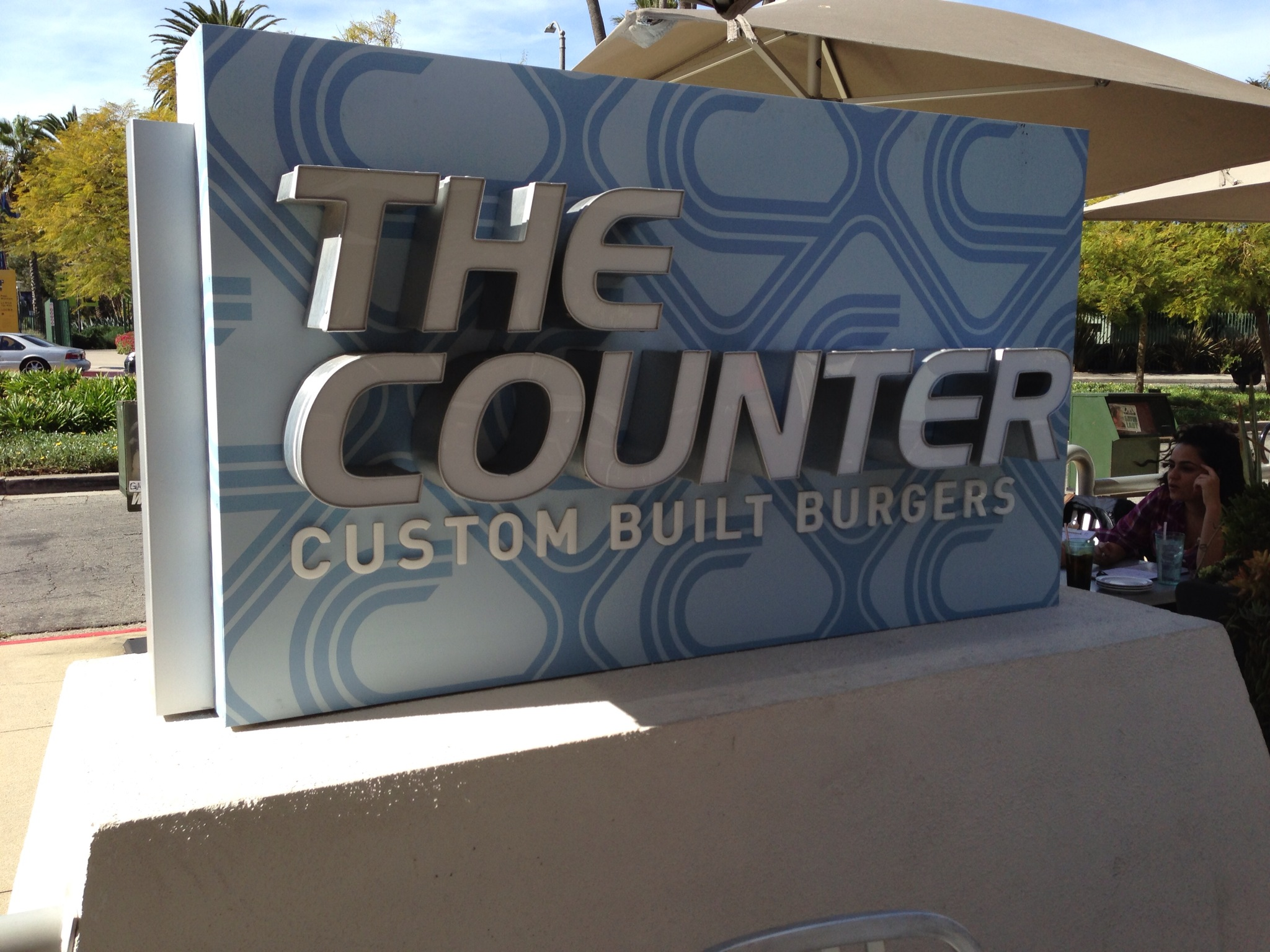 The Counter, a great lunch option that's a two minute walk from the Page.