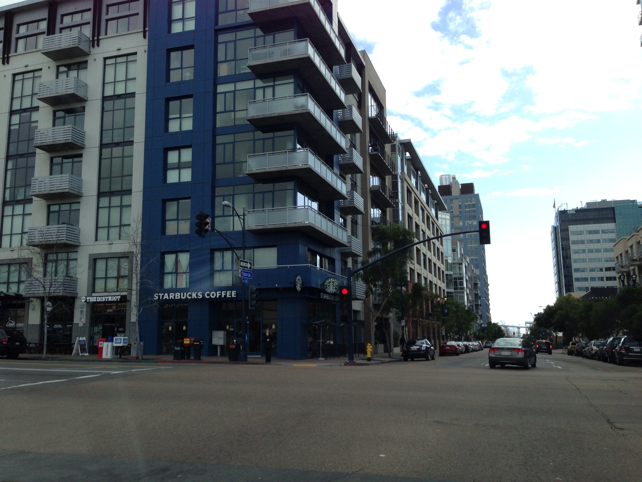 The buildings with tons of windows reminded us of Vancouver.