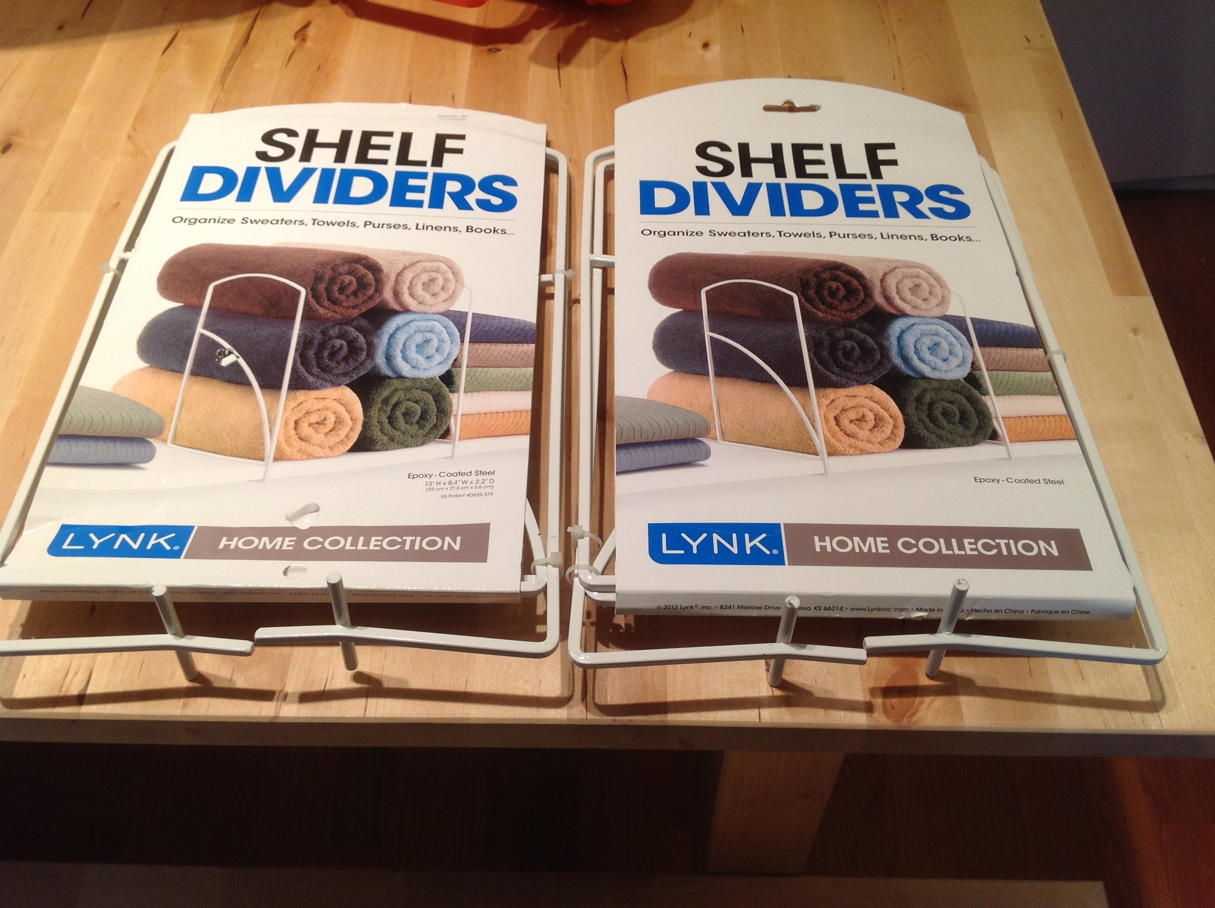 Lynk Shelf Dividers