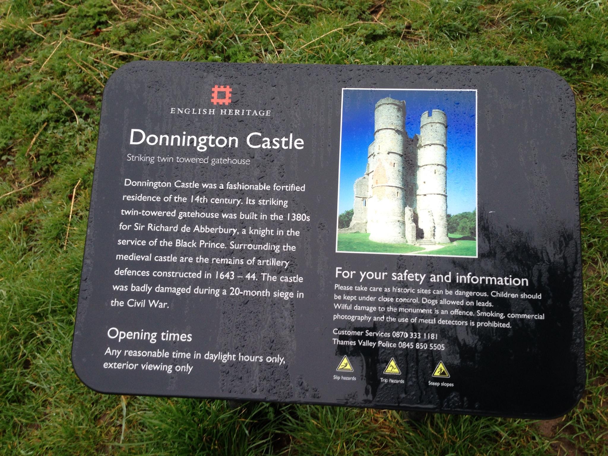 Donnington Castle Info