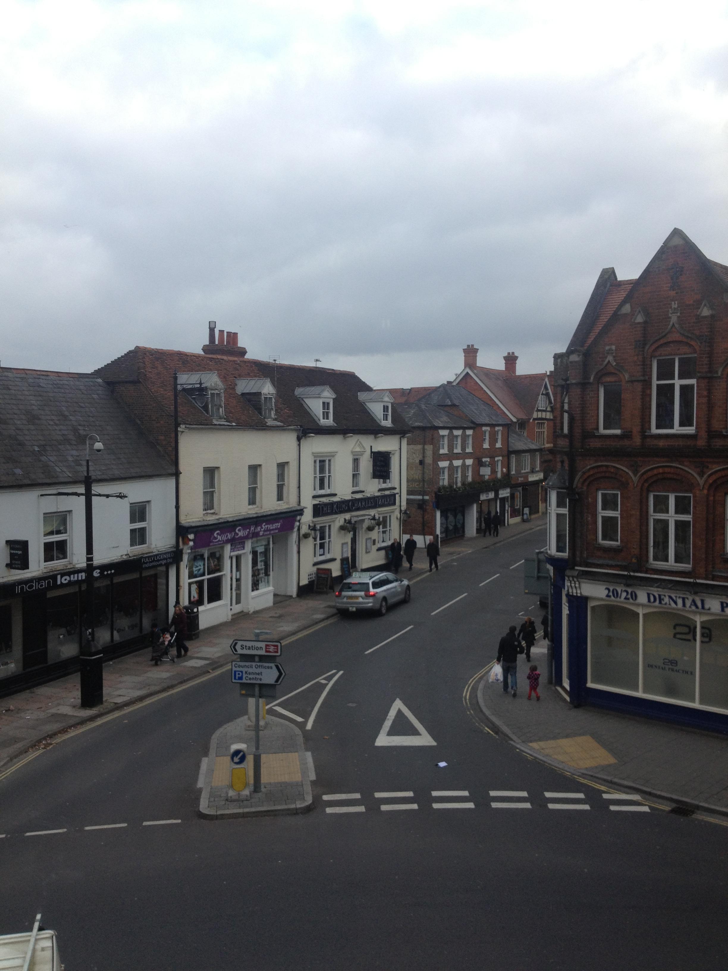The town of Newbury.