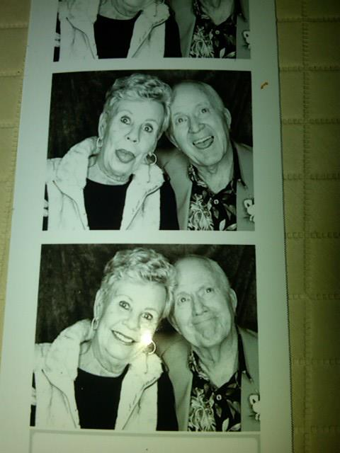 Fun photo booth pictures with my aunt. This is how i think of my aunt and uncle- both slightly goofy and completely in love. They had so much fun together.