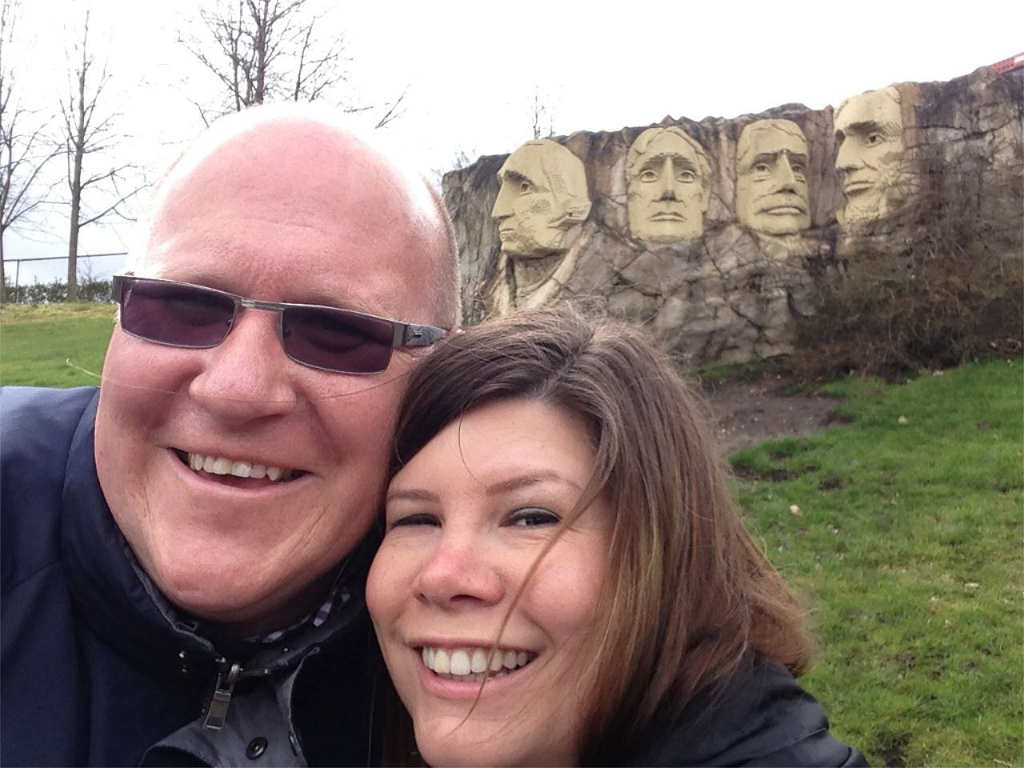 Mount Rushmore at Legoland Windsor.