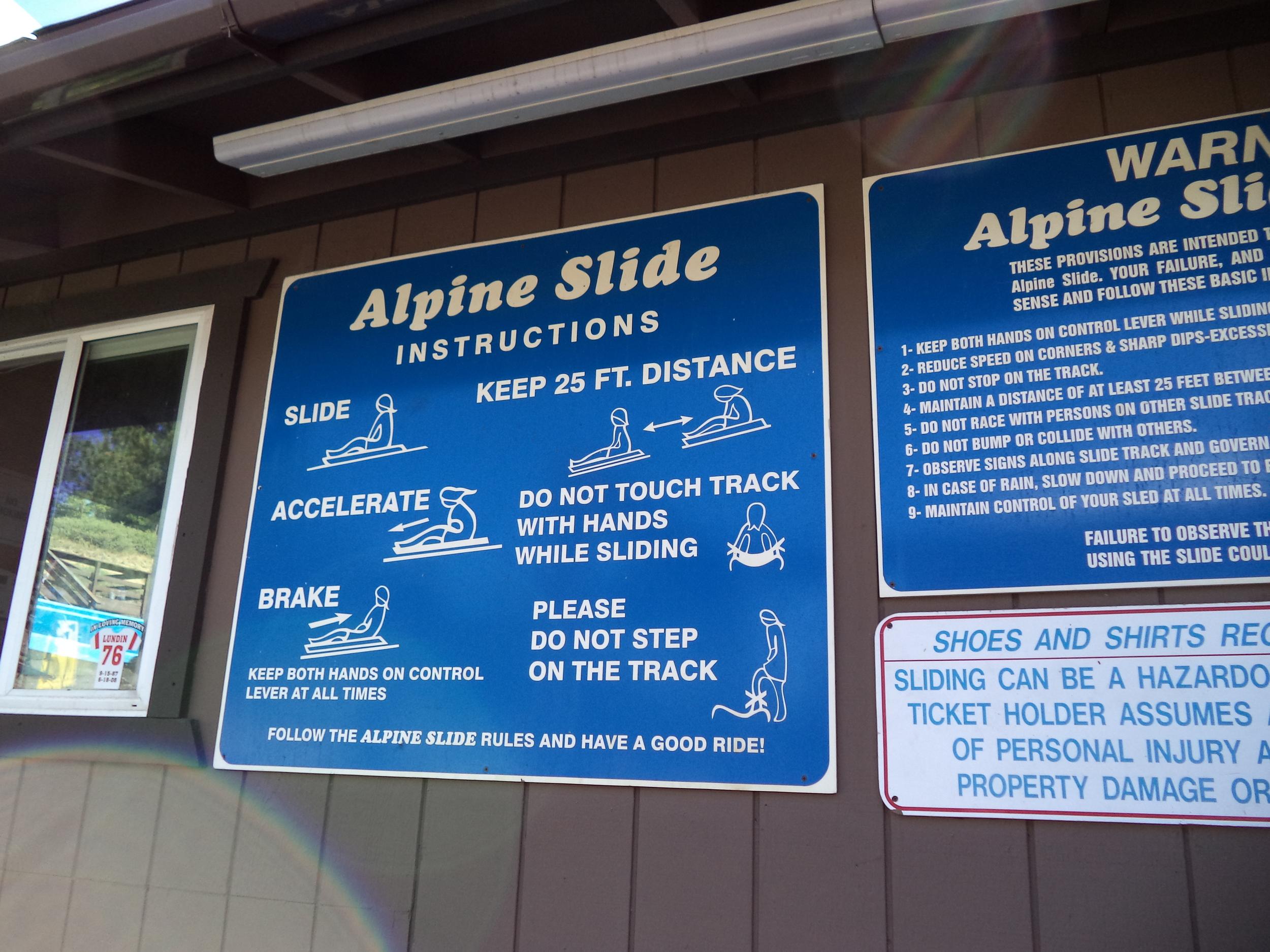 Alpine ticket booth