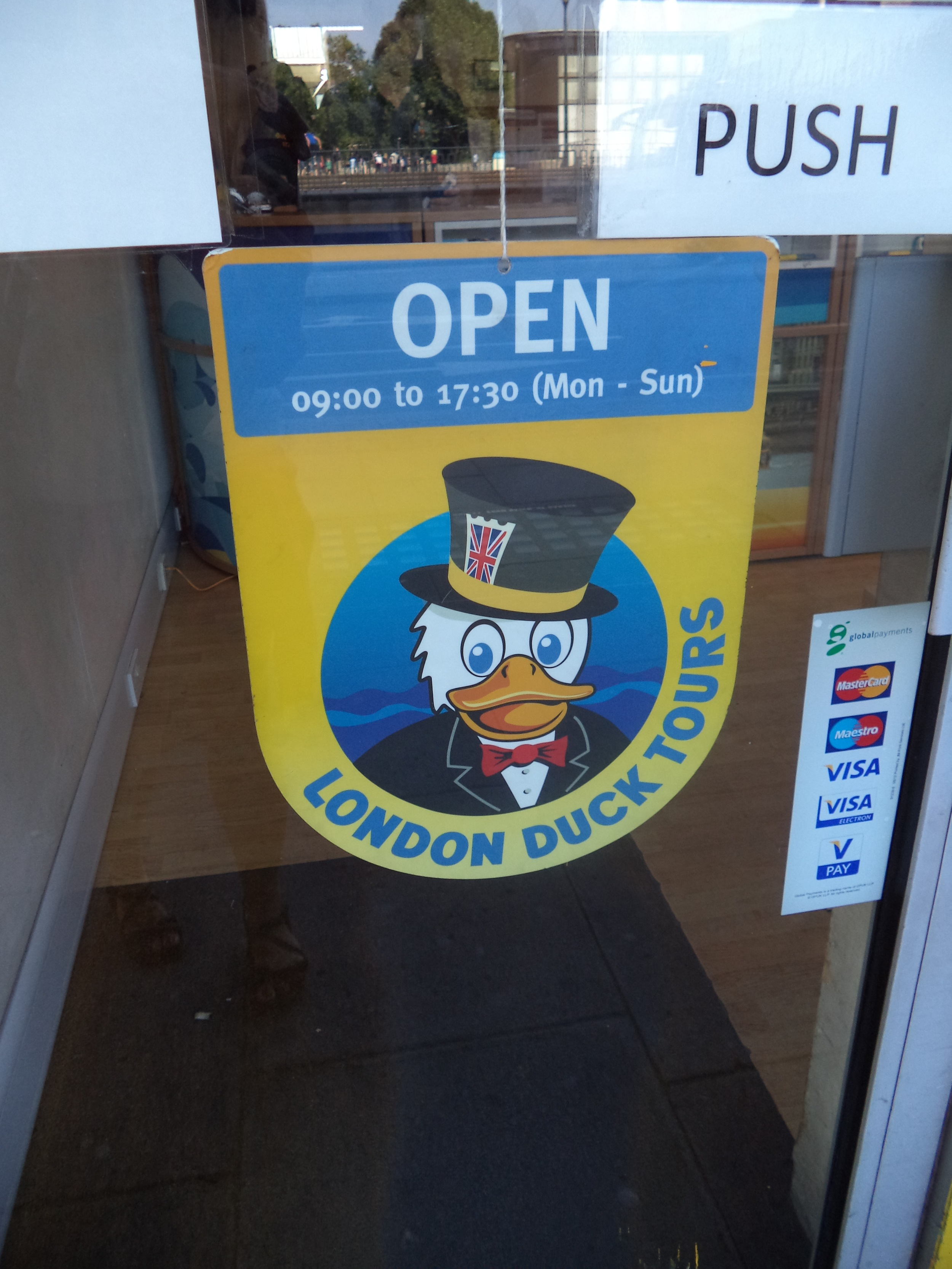 The London Duck Tour office.