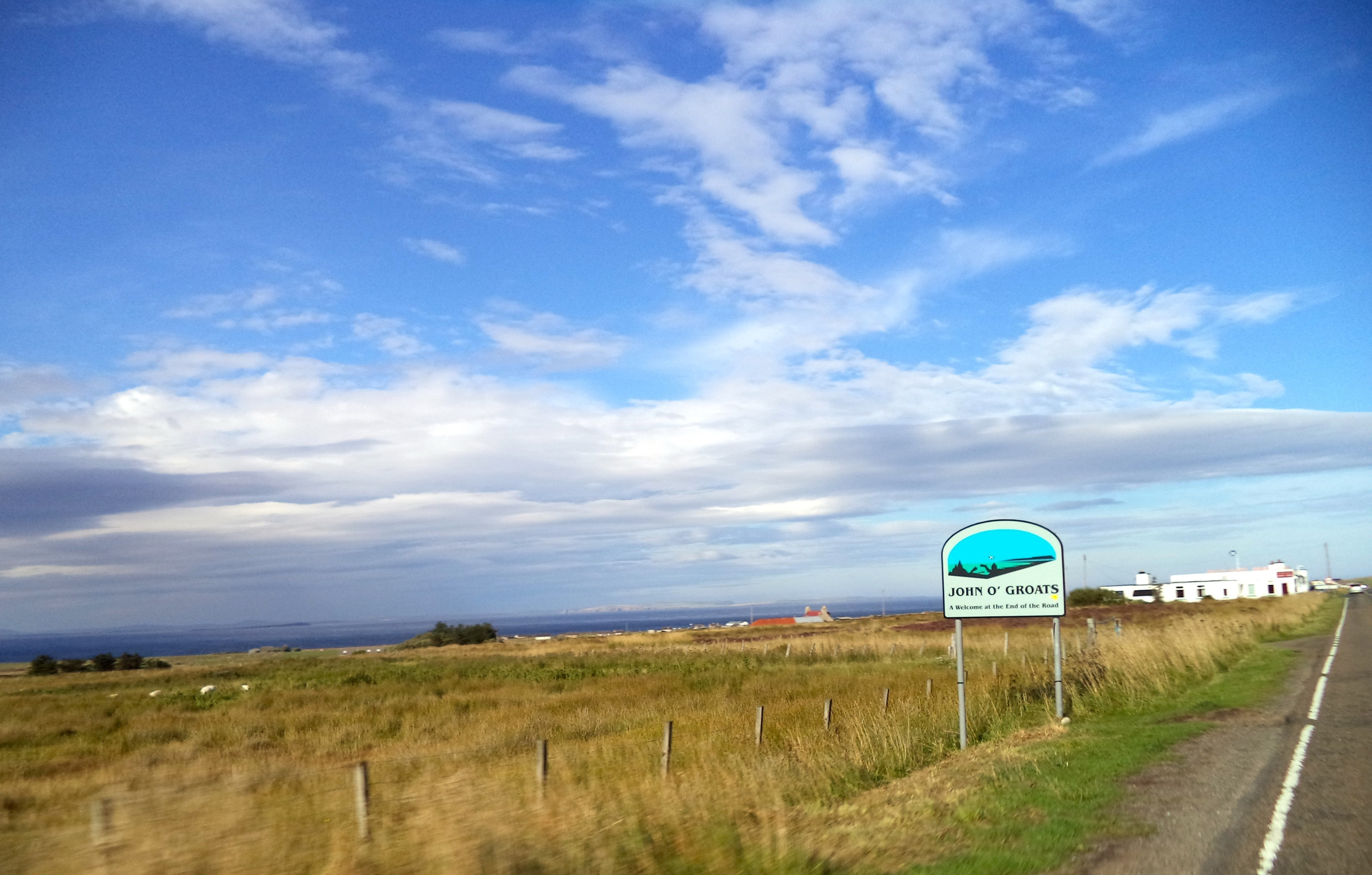 My first impression of John O' Groats.