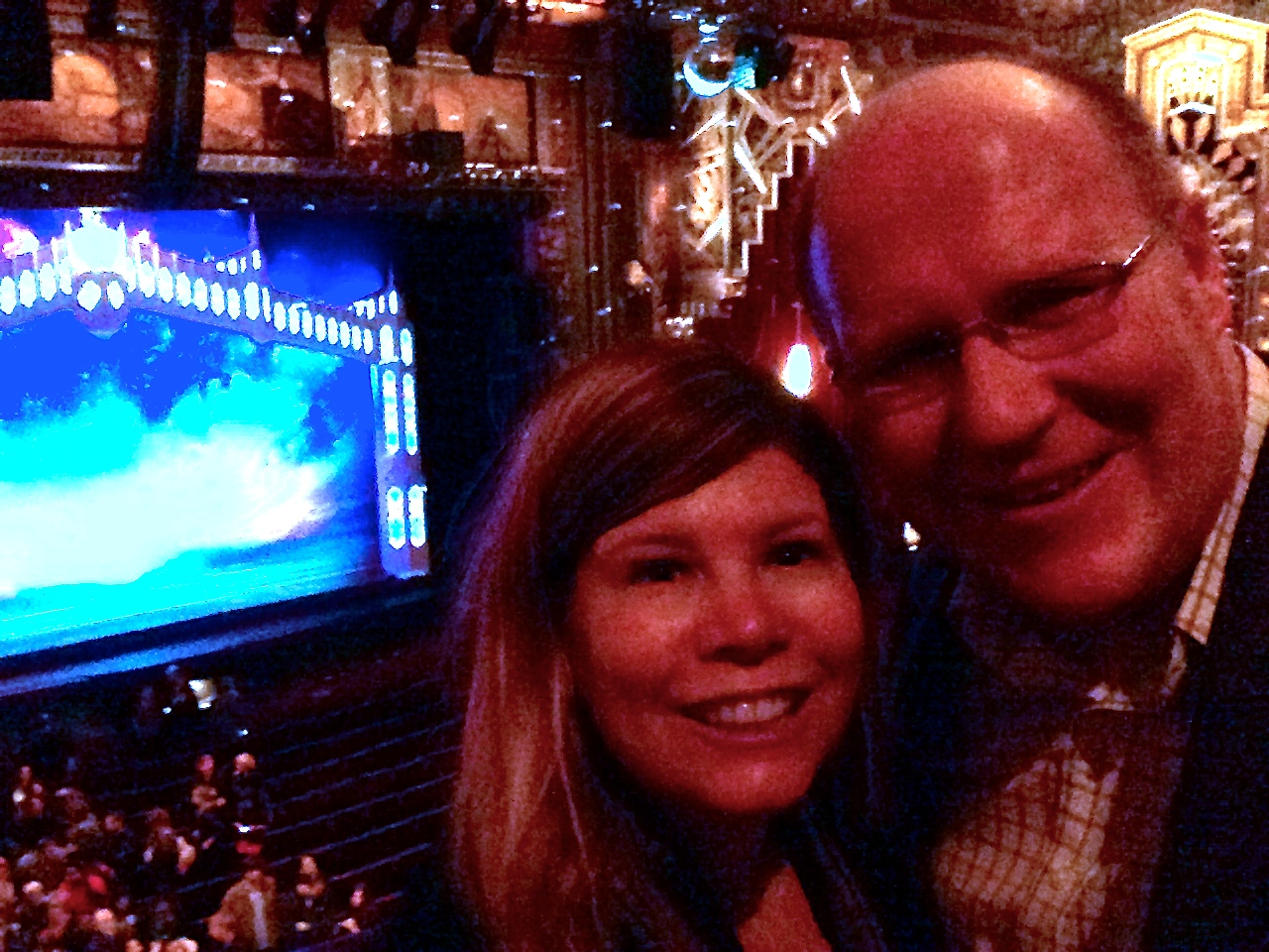 Dan and I at the Pantages.