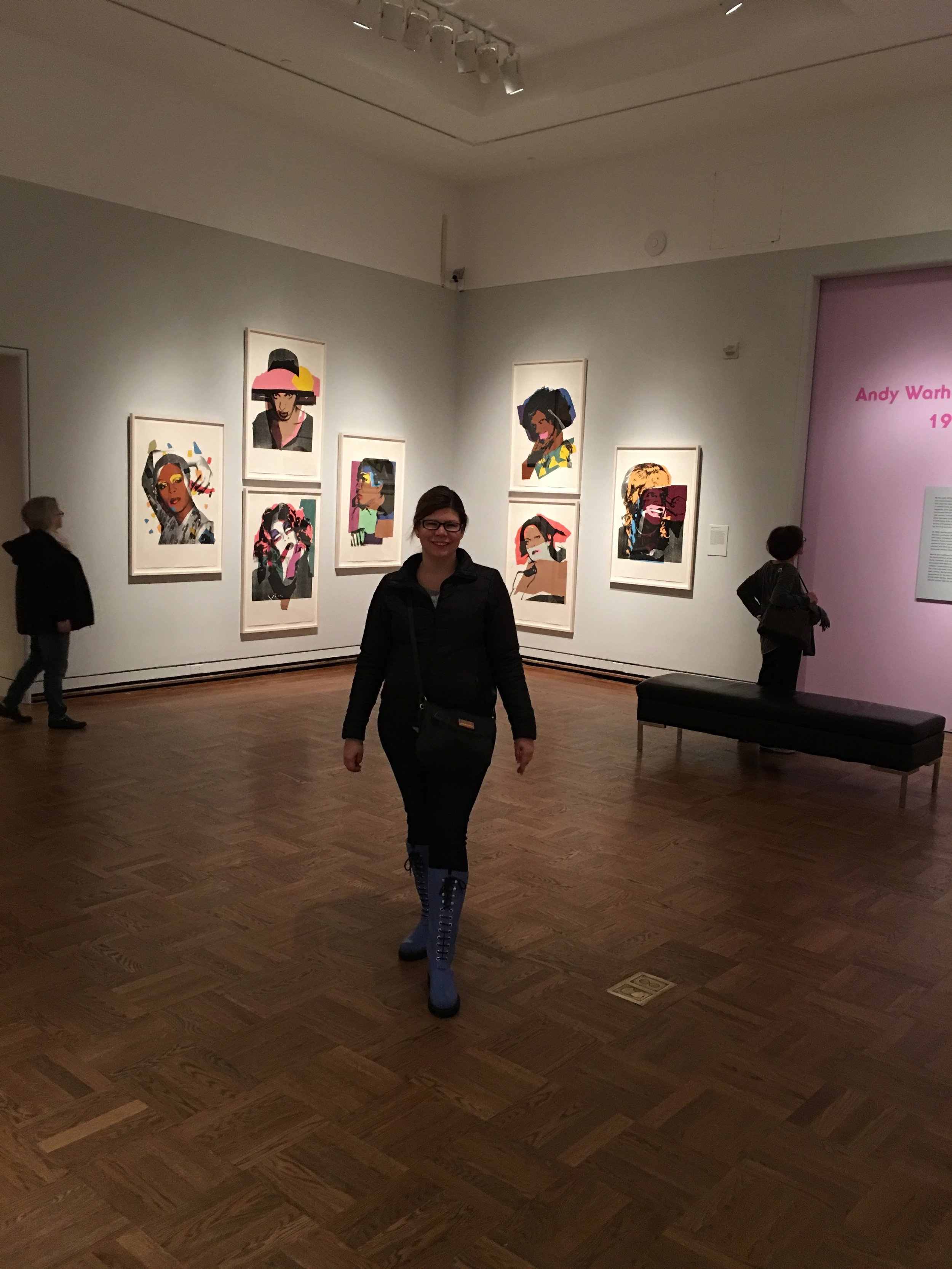 Portland Art Museum- Andy Warhol — Always Packed for Adventure!