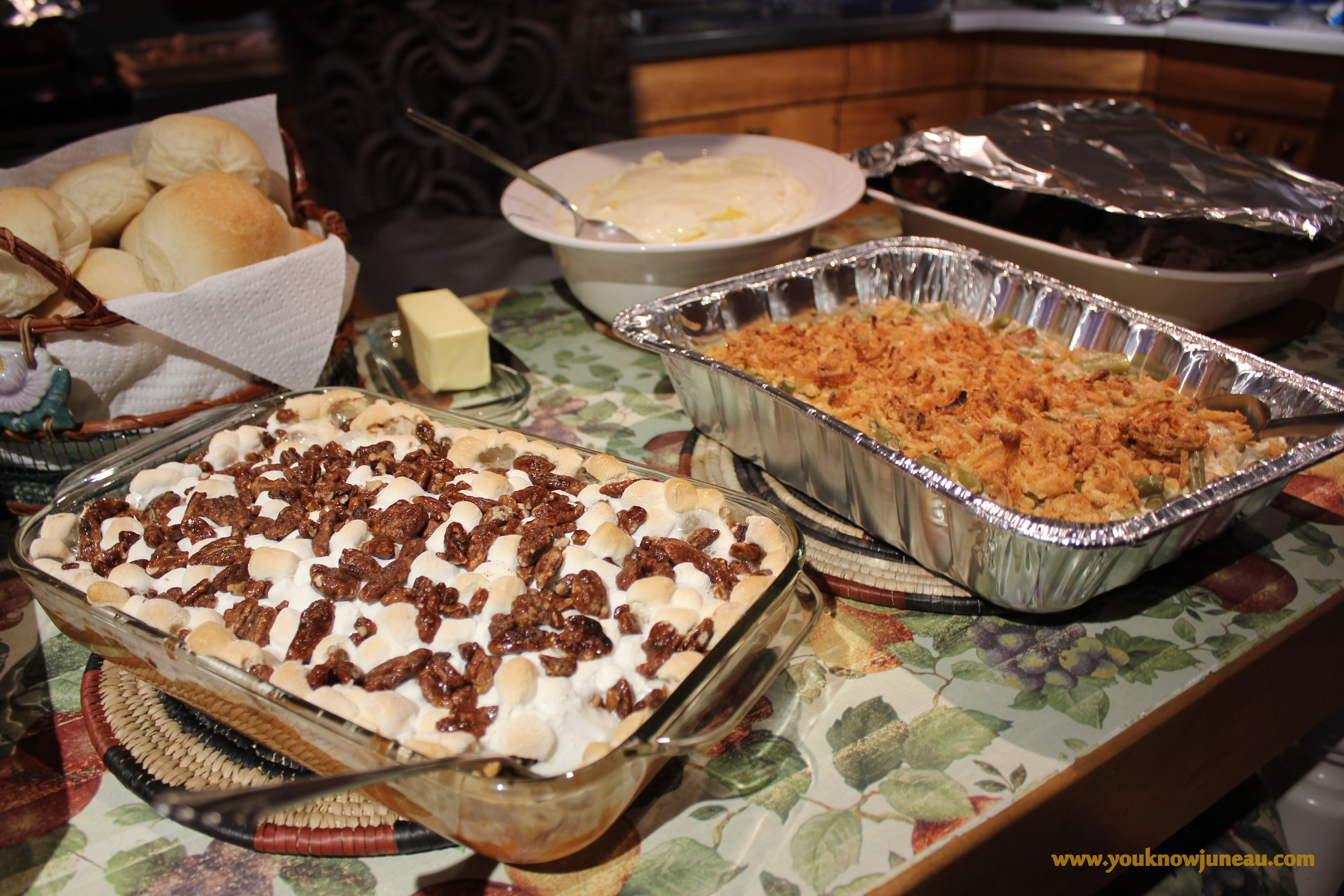 Southern Sweet Potato Casserole and Classic Green Bean Casserole - Two Southern Staples!