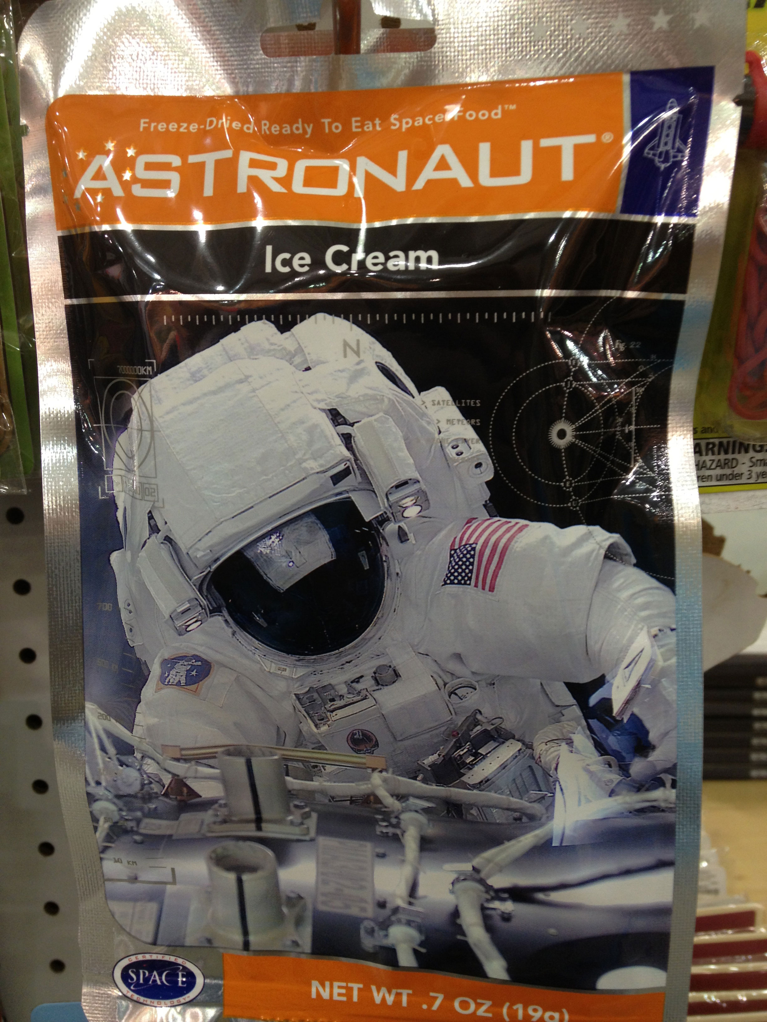 You know you're close to the  U.S. Space and Rocket Center  when you see Astronaut Ice Cream for sale. (I think I prefer Eskimo Ice Cream now.)