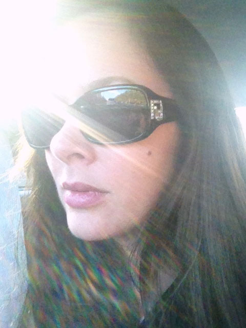 Finally able to wear my sunglasses - something I don't do very often in the temperate rainforest of Juneau!