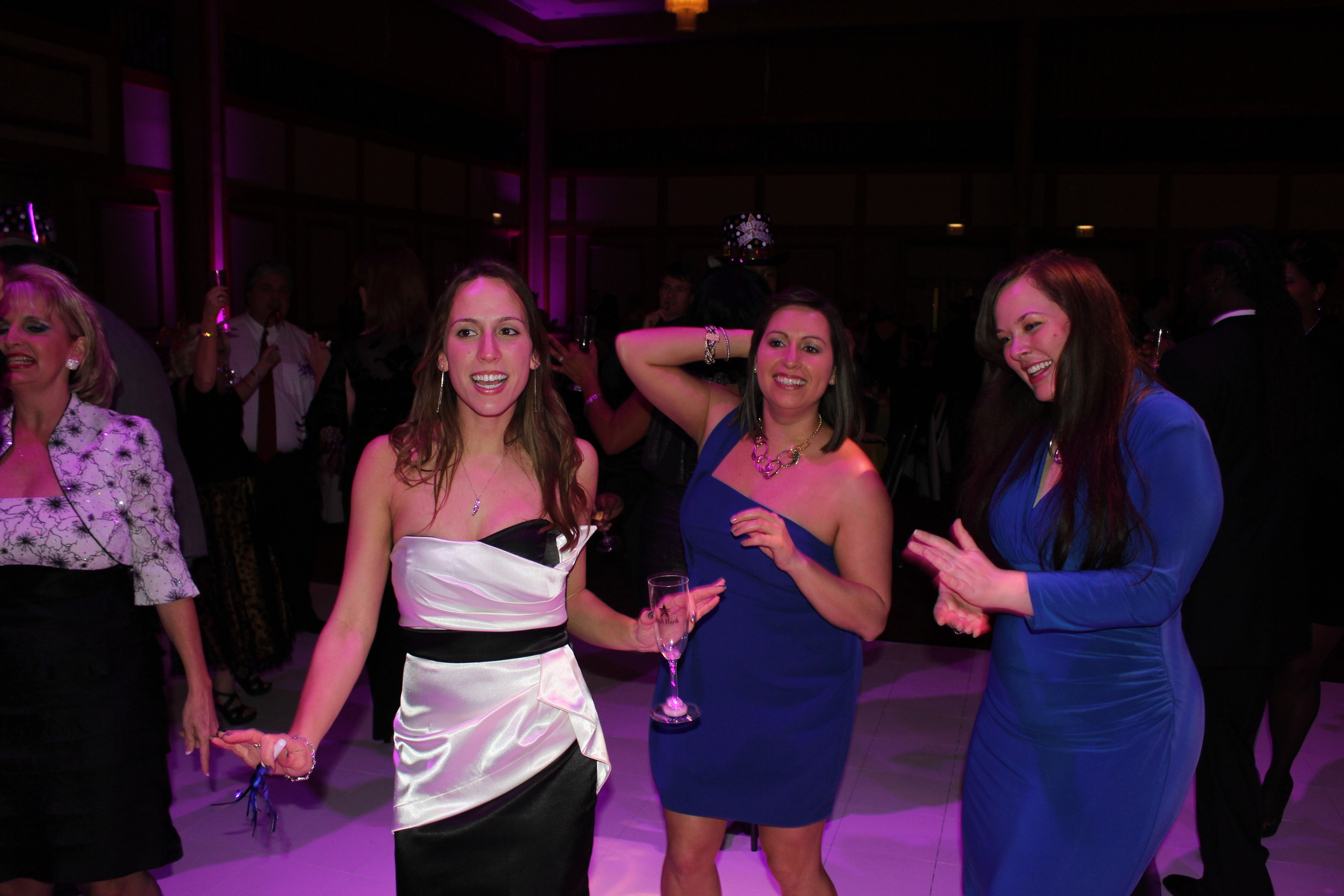 I had a blast with these ladies on the dance floor.