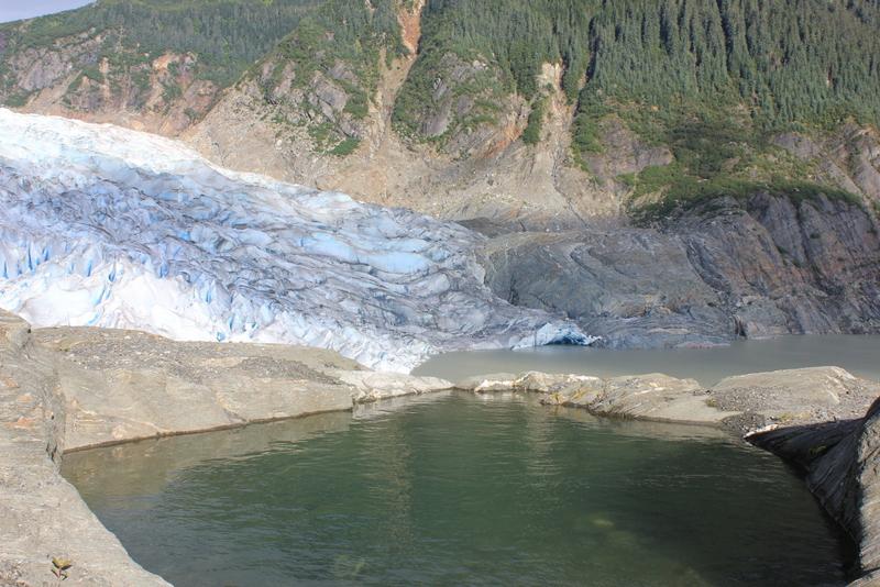 Infinity pool, Alaska style.