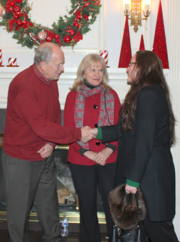 Meeting Governor Bill Walker and the First Lady, Donna Walker. Such lovely people.
