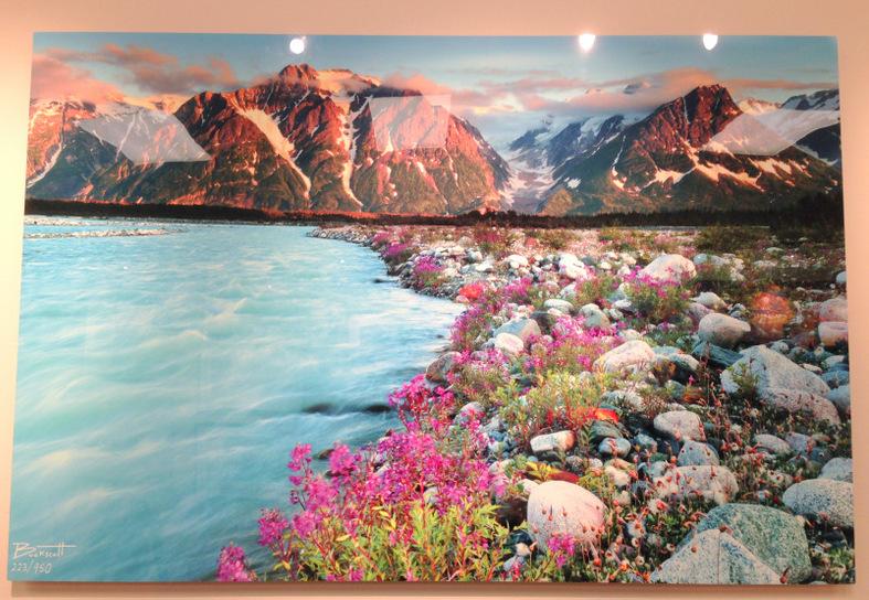 """""""Melt Creek"""" by Daniel Buck."""