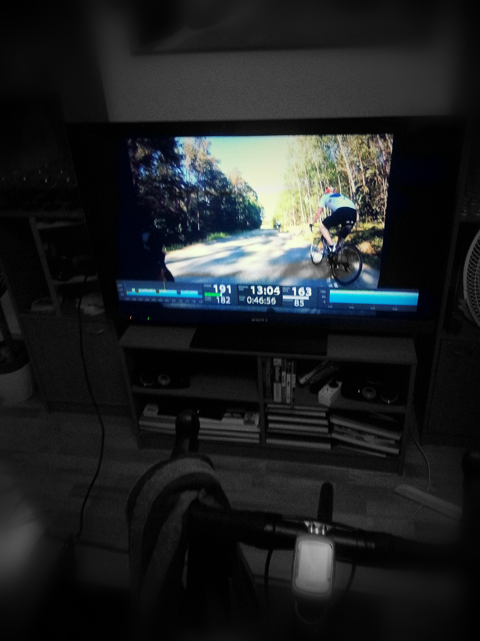 My setup using Kurt Kinetic trainer and Trainerroad software