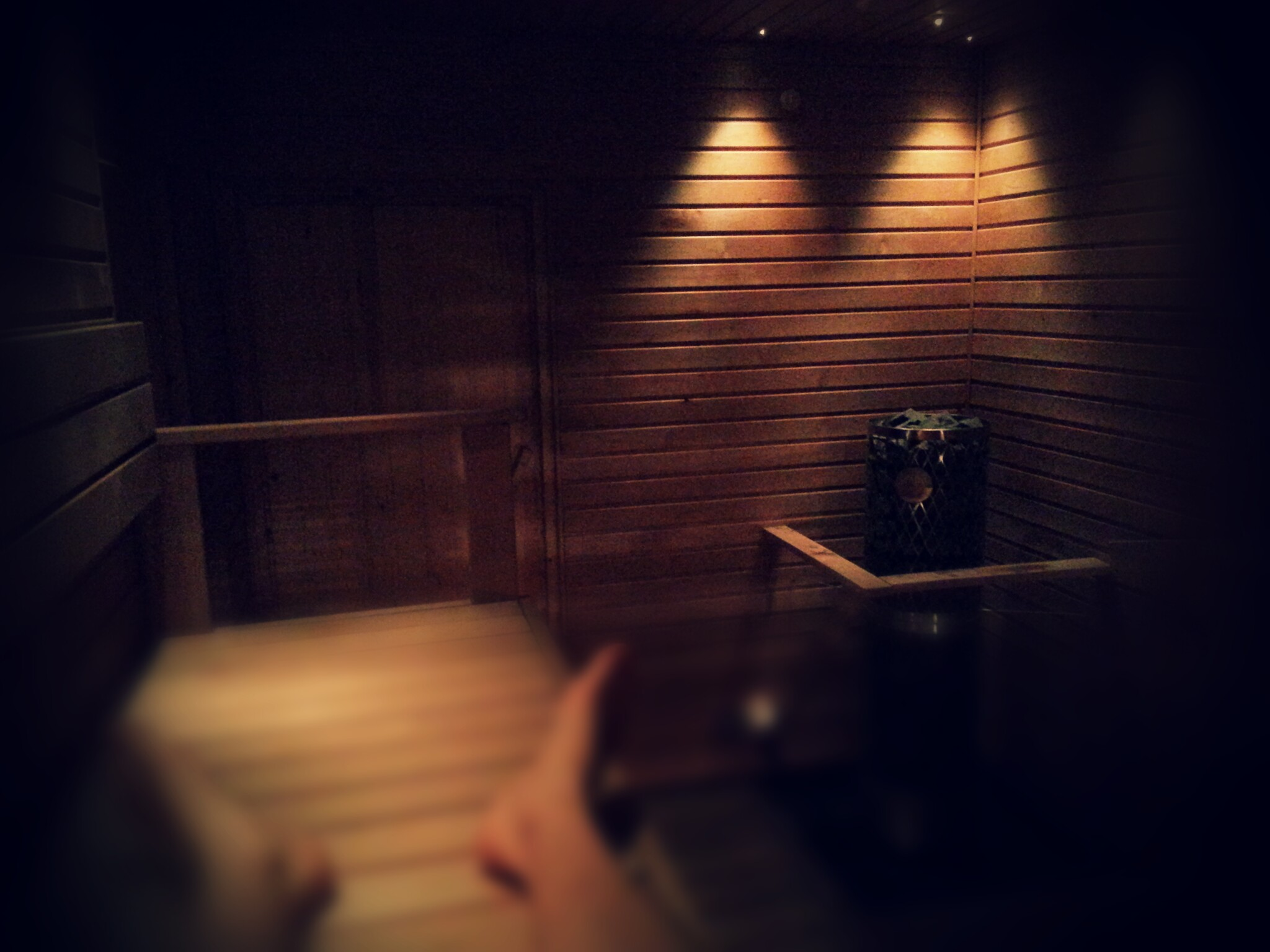 After workout Sauna