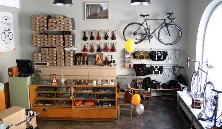 You'll find the Pelago Shop in downtown Helsinki