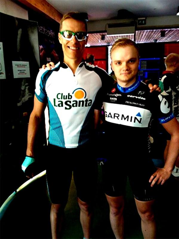 Even met Alexander Stubb before the start