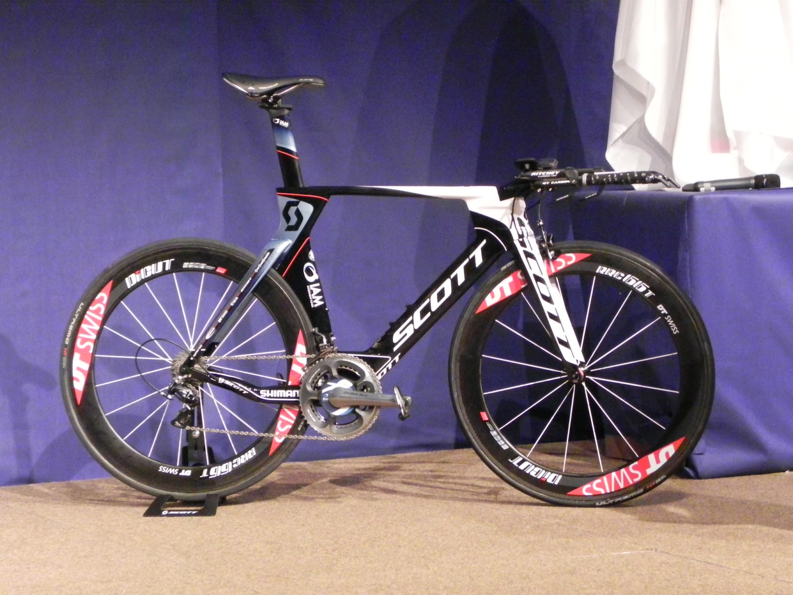 Team IAM Cycling will ride Scott bikes (Foil & Plasma 3) (photo by Guillaume Boillot)