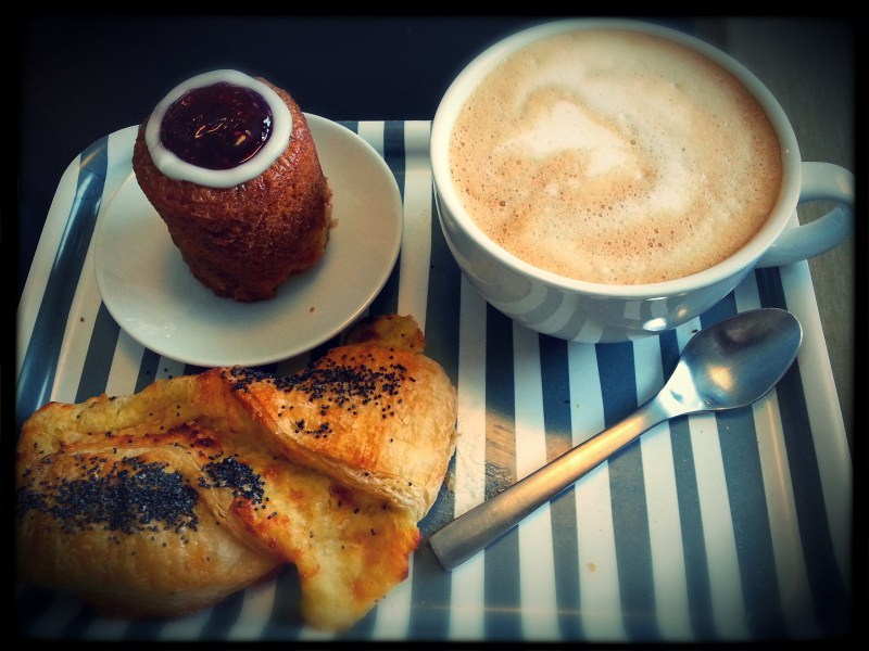 After breakfast and gym it's time to enjoy ( Runeberg's torte  is probably the best thing you can eat)