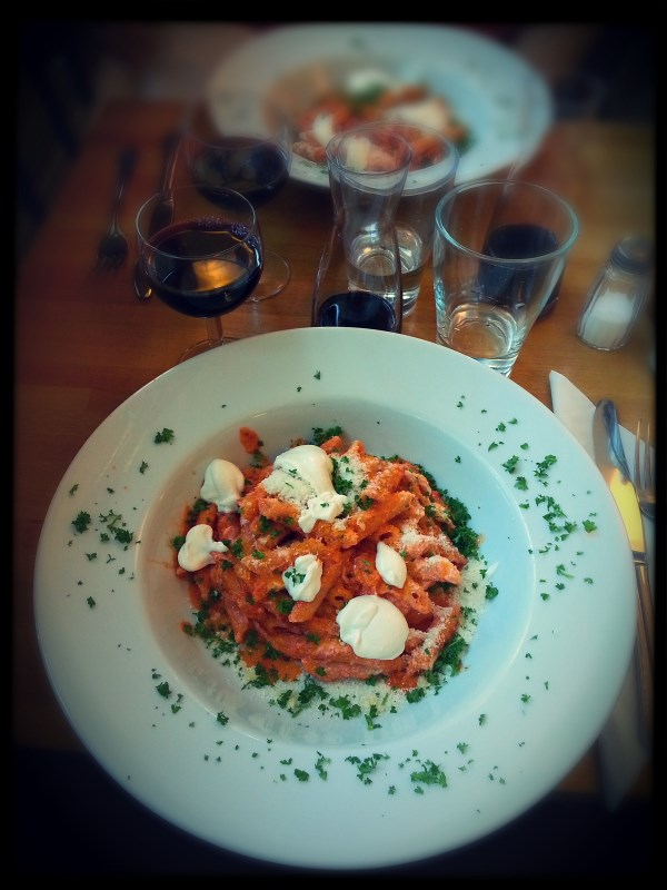 Great lunch at LaCaffettiera in Turku