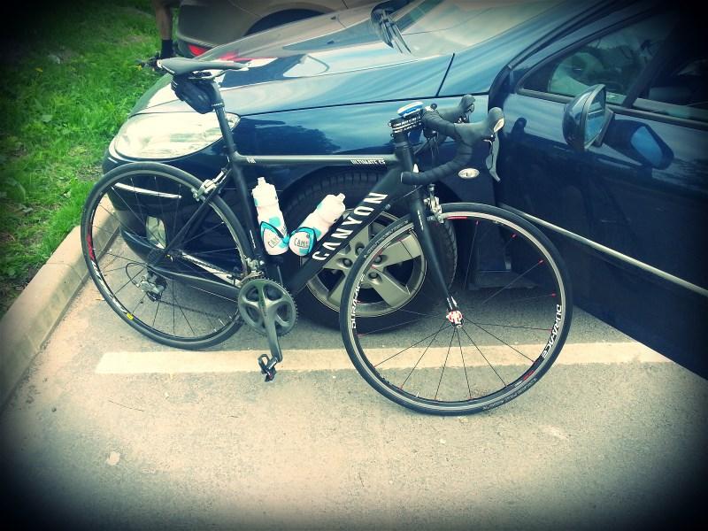 Bike ready for racing