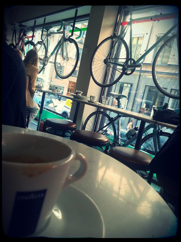 During a business-trip to Stockholm I visited Bianchi Café & Cycles, my favorite café, many times. You should really pay a visit here if you're in Stockholm! Click the picture to read more about the place!