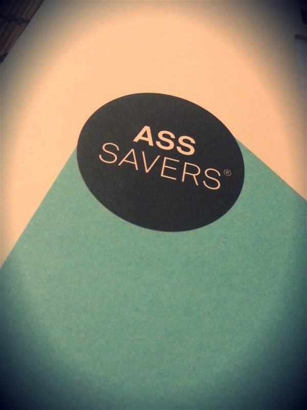 Ass Savers were delivered in an envelope, neat envelope