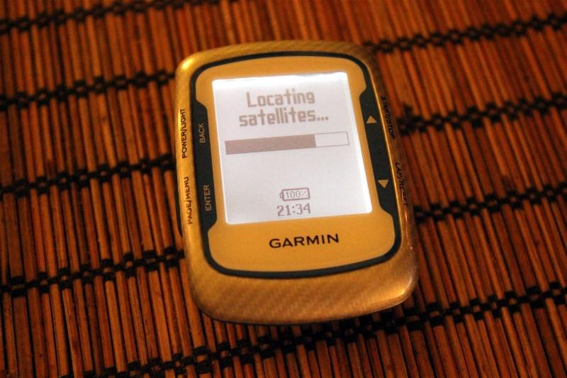 Main device will be my Garmin Edge 500