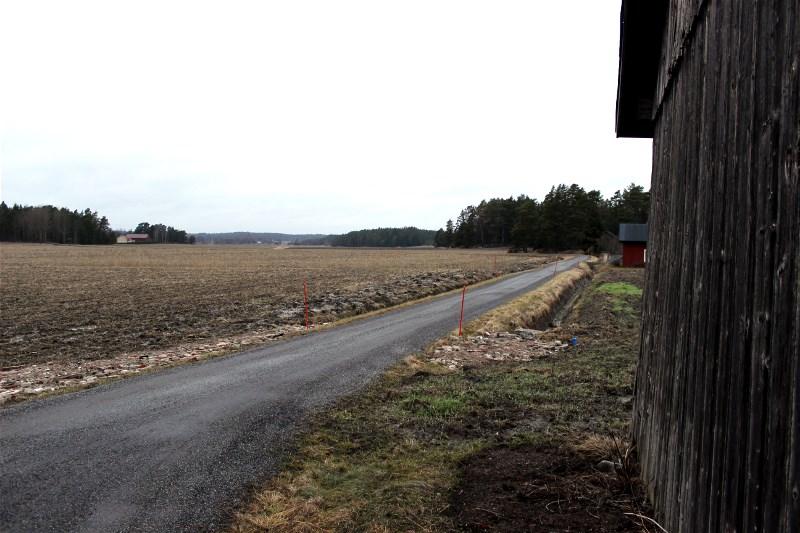 Grey countryside