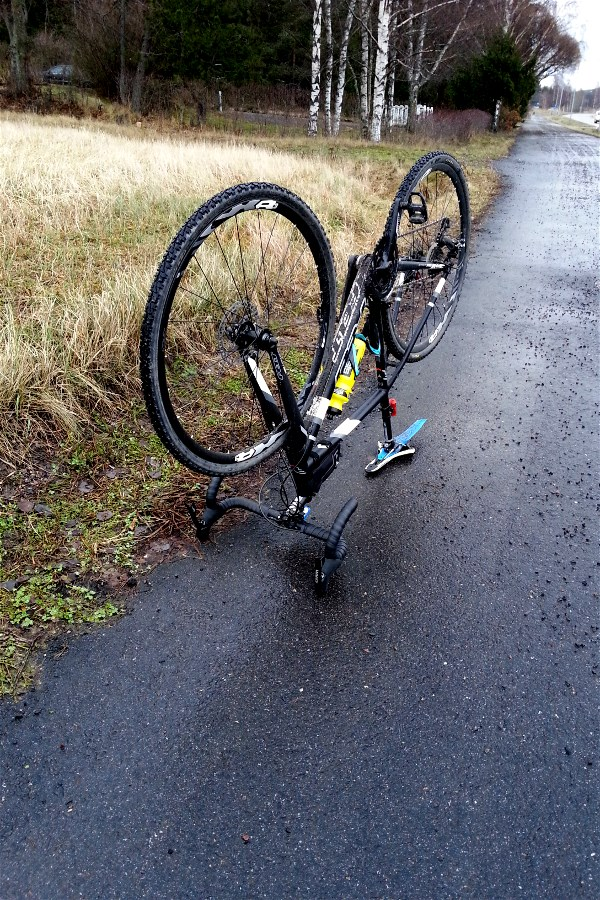 Punctured, twice today