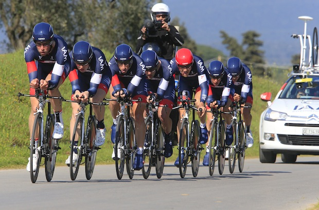 IAM Cycling on stage 1 (picture from iamcycling.ch)